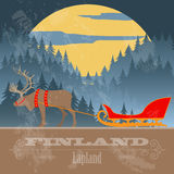 Finland landmarks. Retro styled image Stock Photo