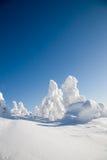 finland lapland Royaltyfri Bild