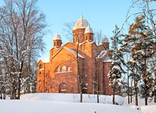 Finland. Lappeenranta parish church Royalty Free Stock Images