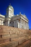 Finland: Lutheran Cathedral of Helsinki Royalty Free Stock Images