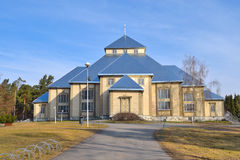 Finland. Lutheran church in Mikkeli Stock Photos