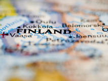 Finland Map Stock Image