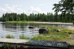 finland O parque da recreação Fotos de Stock Royalty Free