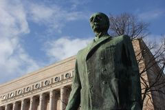 finland parlament Arkivbild