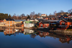 finland porvoo Arkivbild