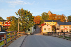 Finland.  Porvoo in autumn Stock Image