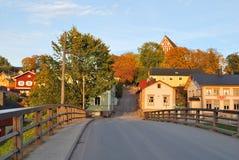 Finland.  Porvoo in autumn Stock Image