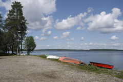 Finland. The recreation Park. Royalty Free Stock Images