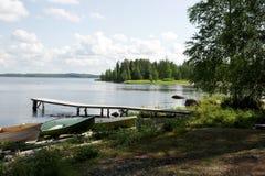 Finland. The recreation Park. Royalty Free Stock Photos