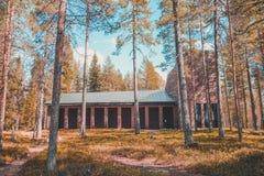 Finland Rovaniemi, begraafplaatsmonument voor de Duitse militairen in wereldoorlog 2 Royalty-vrije Stock Fotografie