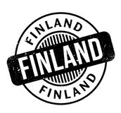 Finland rubber stamp. Grunge design with dust scratches. Effects can be easily removed for a clean, crisp look. Color is easily changed Royalty Free Stock Photos