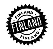 Finland rubber stamp. Grunge design with dust scratches. Effects can be easily removed for a clean, crisp look. Color is easily changed Royalty Free Stock Image
