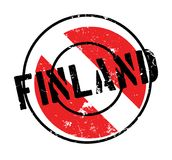 Finland rubber stamp. Grunge design with dust scratches. Effects can be easily removed for a clean, crisp look. Color is easily changed Royalty Free Stock Images