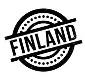 Finland rubber stamp. Grunge design with dust scratches. Effects can be easily removed for a clean, crisp look. Color is easily changed Stock Photo