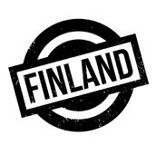 Finland rubber stamp. Grunge design with dust scratches. Effects can be easily removed for a clean, crisp look. Color is easily changed Stock Image