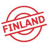 Finland rubber stamp. Grunge design with dust scratches. Effects can be easily removed for a clean, crisp look. Color is easily changed Royalty Free Stock Photography
