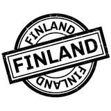 Finland rubber stamp Stock Photography