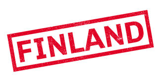 Finland rubber stamp Royalty Free Stock Photography