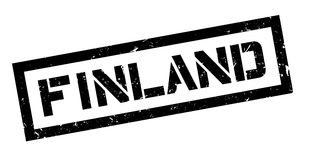Finland rubber stamp Stock Image