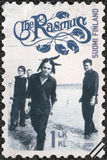 FINLAND - 2015: shows The Rasmus, series Six internationally successful Finnish rock bands Stock Photography