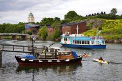 Finland: Sommardag i Helsingfors Royaltyfri Bild