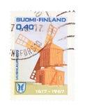 finland stämpel arkivfoto