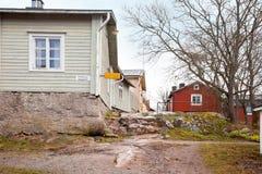 finland Stad Porvoo Royalty-vrije Stock Foto
