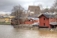 finland Stad Porvoo Royaltyfri Bild