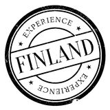 Finland stamp rubber grunge Royalty Free Stock Photo