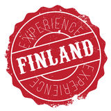 Finland stamp rubber grunge. Finland stamp. Grunge design with dust scratches. Effects can be easily removed for a clean, crisp look. Color is easily changed Stock Photo