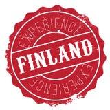 Finland stamp rubber grunge Stock Photo