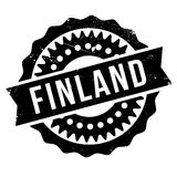 Finland stamp rubber grunge Royalty Free Stock Image