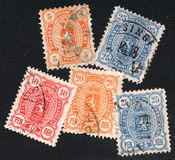 Finland stamps Royalty Free Stock Images