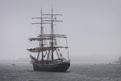 Finland: Tall ship on the coast of Finland Royalty Free Stock Images