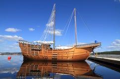 Finland/Tourism: Vintage Sailing Ship Stock Photo