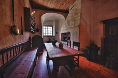 Finland Turku Castle kitchen display Royalty Free Stock Images