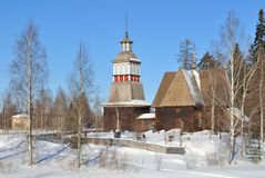 Finland. Old  church in Petaavesi Royalty Free Stock Image
