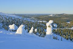 Finland in winter Royalty Free Stock Photography