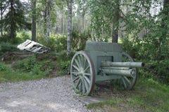 Finland. Winter war. Stock Photos