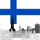 finlandia Foto de archivo libre de regalías