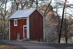 Finlandia: Casa rústica em Seurasaari Imagem de Stock