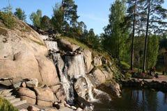 Finlandia. Ciudad de Kotka. Parque Sapokka. Foto de archivo