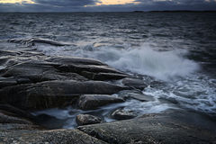 Finlandia: Costa do mar Báltico Foto de Stock
