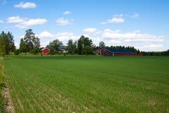 Finlandia gospodarstwo rolne obrazy royalty free