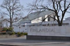 Finlandia Hall Helsinki Royaltyfria Bilder