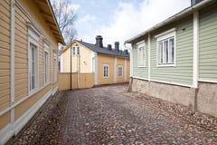 Finlandia Miasto Porvoo Obrazy Royalty Free