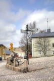 Finlandia Miasto Porvoo Zdjęcie Royalty Free