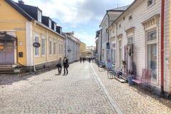 Finlandia Miasto Porvoo Zdjęcia Royalty Free