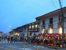 Finlandia Quindío this town is perfect stock photography