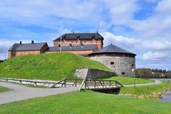Finlandia Średniowieczny Hameenlinna Fotografia Royalty Free